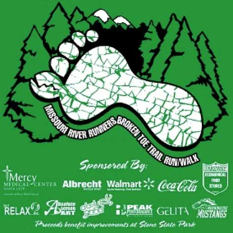 Broken Toe Trail Run
